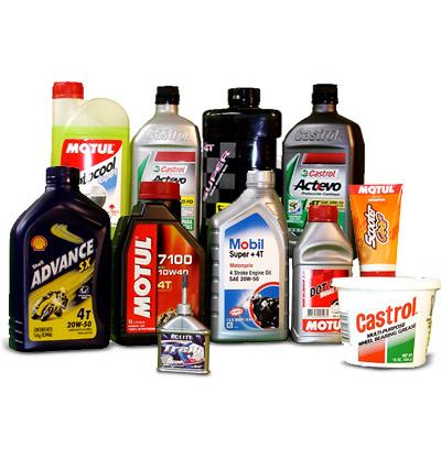 Etiquetas de marca para Lubricantes y Aceites