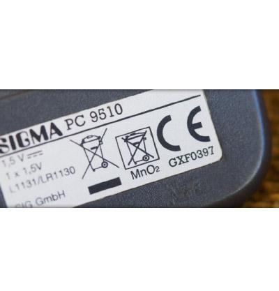 Etiquetas de accesorios eléctricos y electrónicos