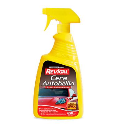 Etiquetas de productos para limpieza automotriz