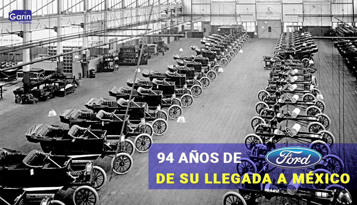 Feliz cumpleaños a la Ford Motor Company