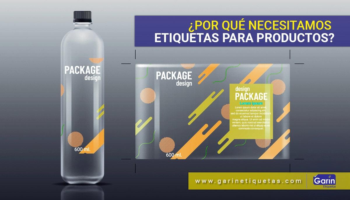¡Etiquetas para productos!