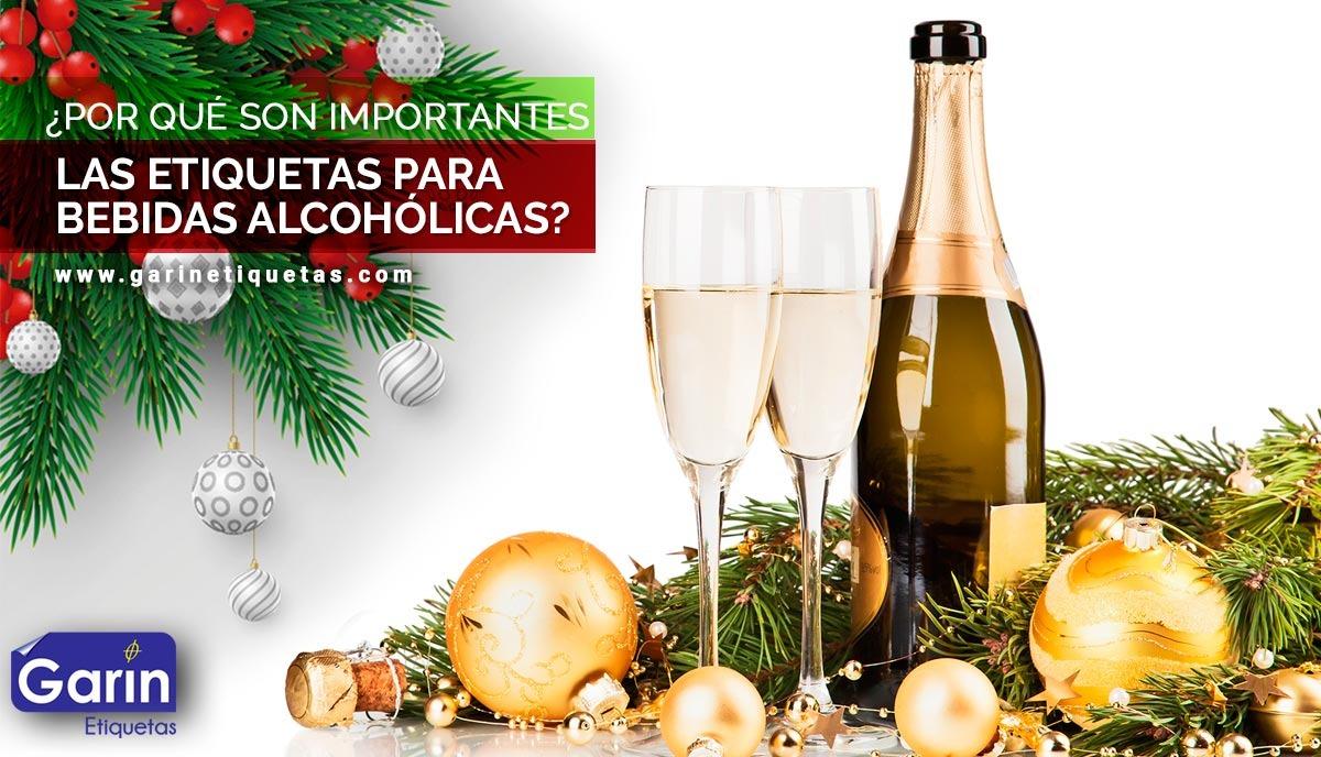 Etiquetas para bebidas alcohólicas