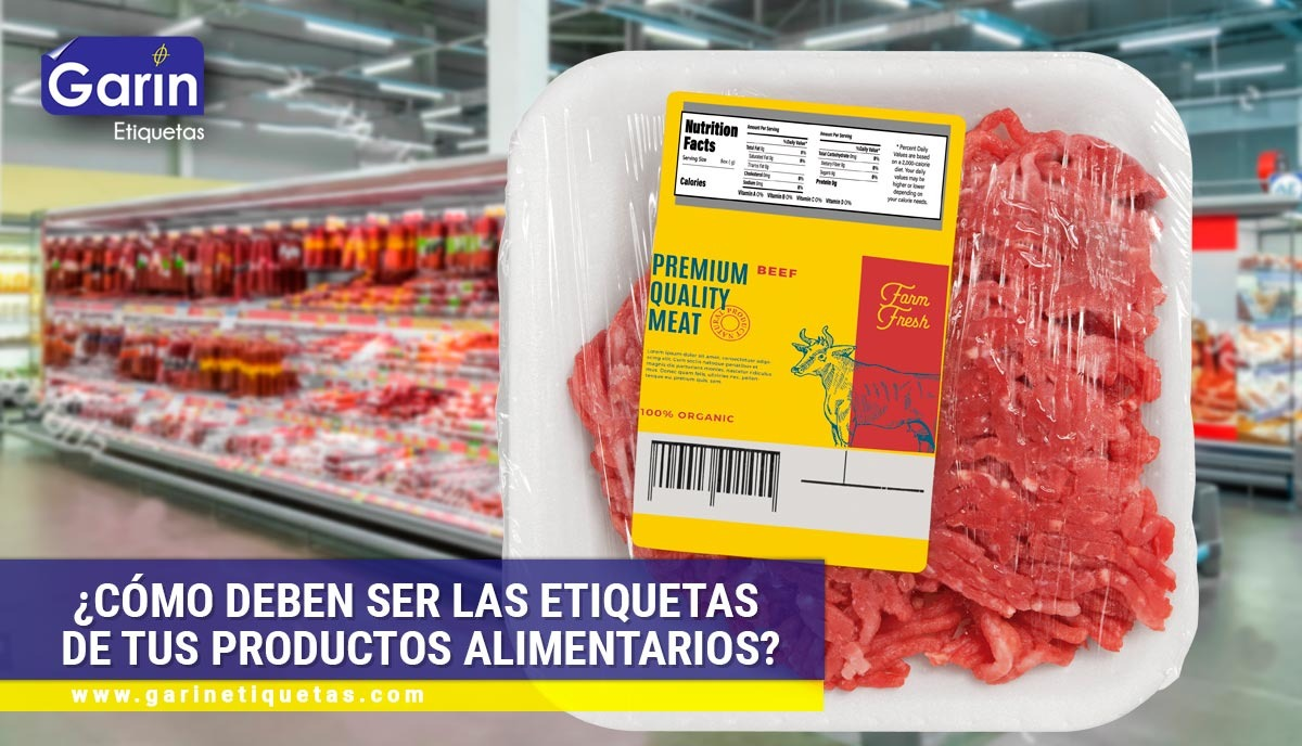 Breve guía de etiquetado de alimentos