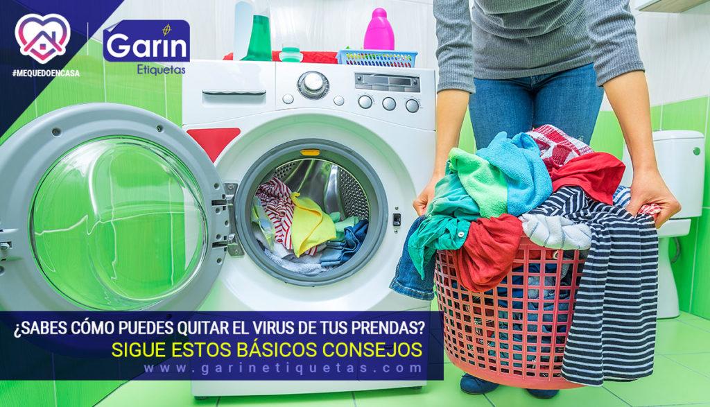 Elimina el coronavirus de tu ropa