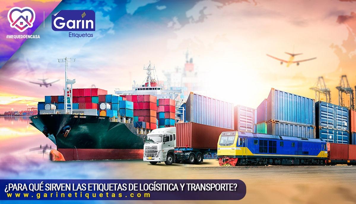 Etiquetas para logística y transporte