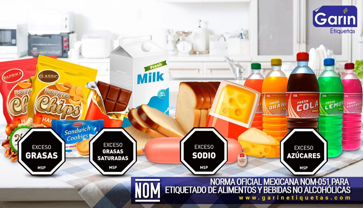 Nueva norma de etiquetado de alimentos 2020 NOM-51