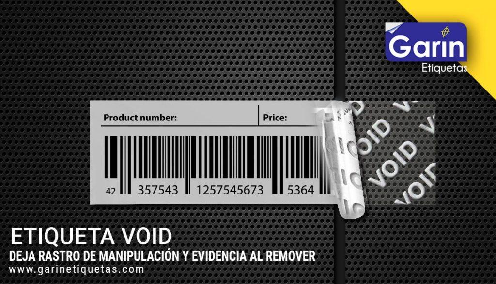 Etiquetas de seguridad a prueba de manipulaciones