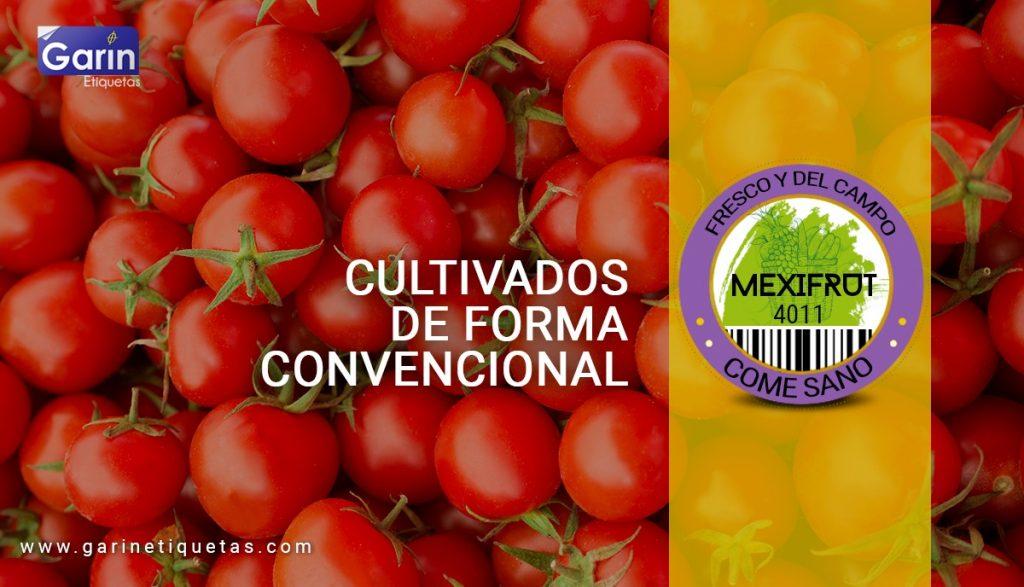 Etiquetas de frutas y verduras - Significado