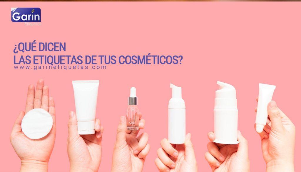 Etiquetas de cosméticos y cremas - Tips para interpretarlos
